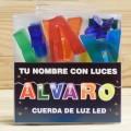 LETRAS LED ALVARO