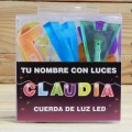 LETRAS LED CLAUDIA