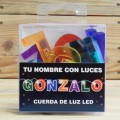 LETRAS LED GONZALO