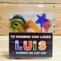 LETRAS LED LUIS