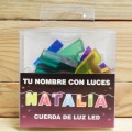 LETRAS LED NATALIA