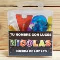LETRAS LED NICOLAS