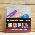 LETRAS LED SOFIA