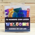 LETRAS LED WELCOME
