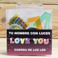 LETRAS LED LOVE YOU