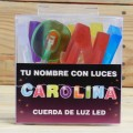 LETRAS LED CAROLINA