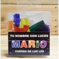 LETRAS LED MARIO