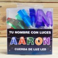 LETRAS LED AARON