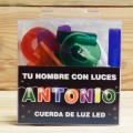 LETRAS LED ANTONIO