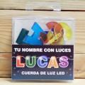 LETRAS LED LUCAS