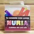 LETRAS LED NURIA