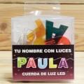 LETRAS LED PAULA