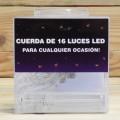 LETRAS LED CUERDA 16LED