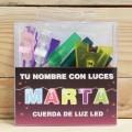 LETRAS LED MARTA
