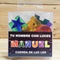 LETRAS LED MANUEL