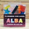 LETRAS LED ALBA