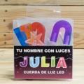LETRAS LED JULIA