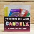 LETRAS LED CANDELA