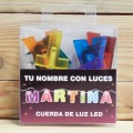 LETRAS LED MARTINA
