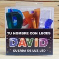 LETRAS LED DAVID