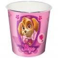 Papelera Patrulla Canina rosa