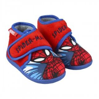 Zapatillas de casa en formato botín de Spiderman