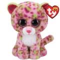 Peluche TY LAINEY - Pink Leopard 15cm