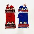Set Mickey gorro- bufanda y guantes