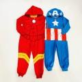 Pijama entero Iron Man - Capitán América