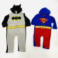 Pijama entero Superman - Batman bebe