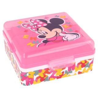 Sandwichera Minnie compartimentos